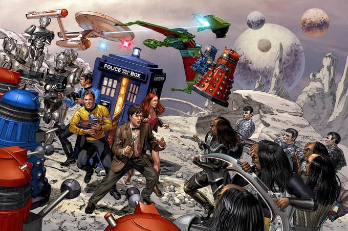 Star Trek vs Doctor Who