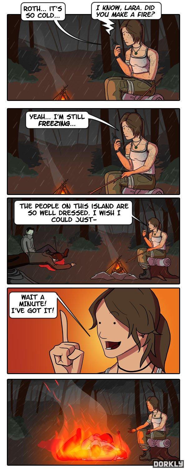 Lara Croft: Clothes Raider