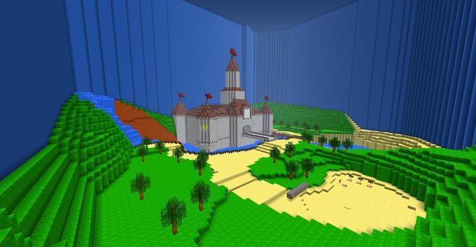 Mario 64: The Mushroom Castle 2