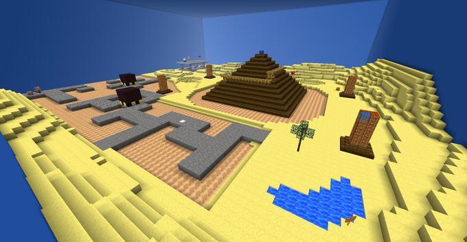 Mario 64: Shifting Sand Land
