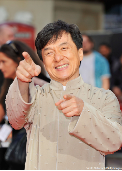 Got you - Jackie Chan Face