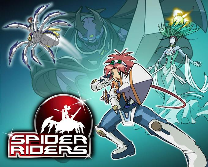 Spider Riders. This was a good show.