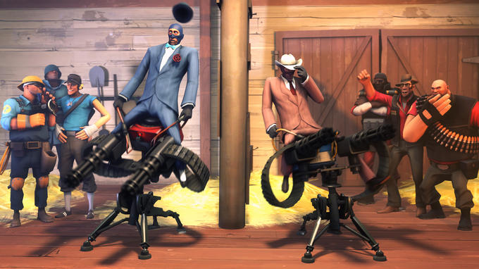 Sentry riding contest