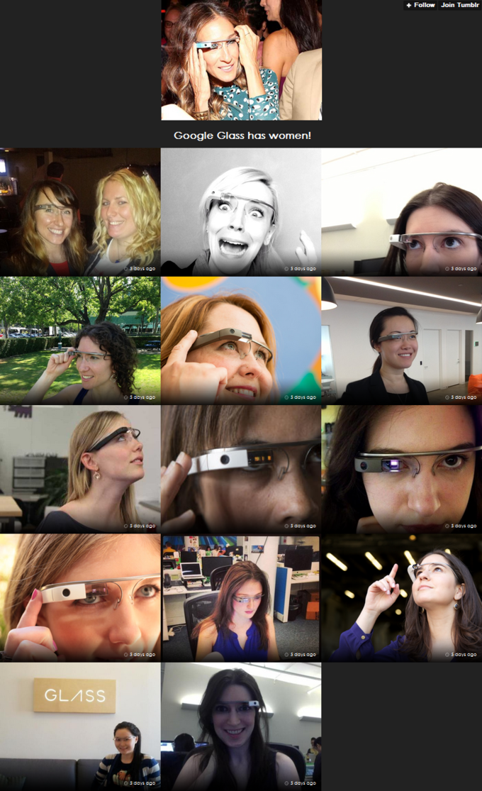 Women With Google Glass