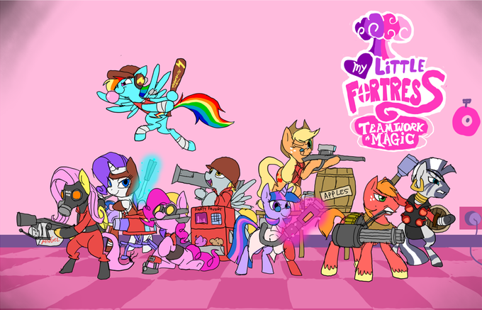 Pony Fortress 2
