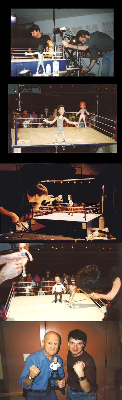 Behind of scenes of Celebrity Deathmatch