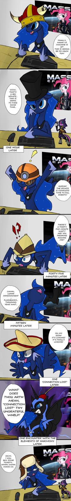 Luna and Man vs Machine