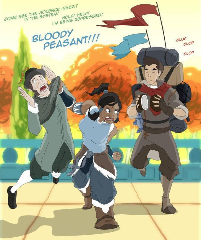 Korra and the Holy Grail