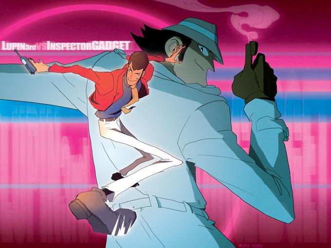 Lupin The Third Versus Inspector Gadget