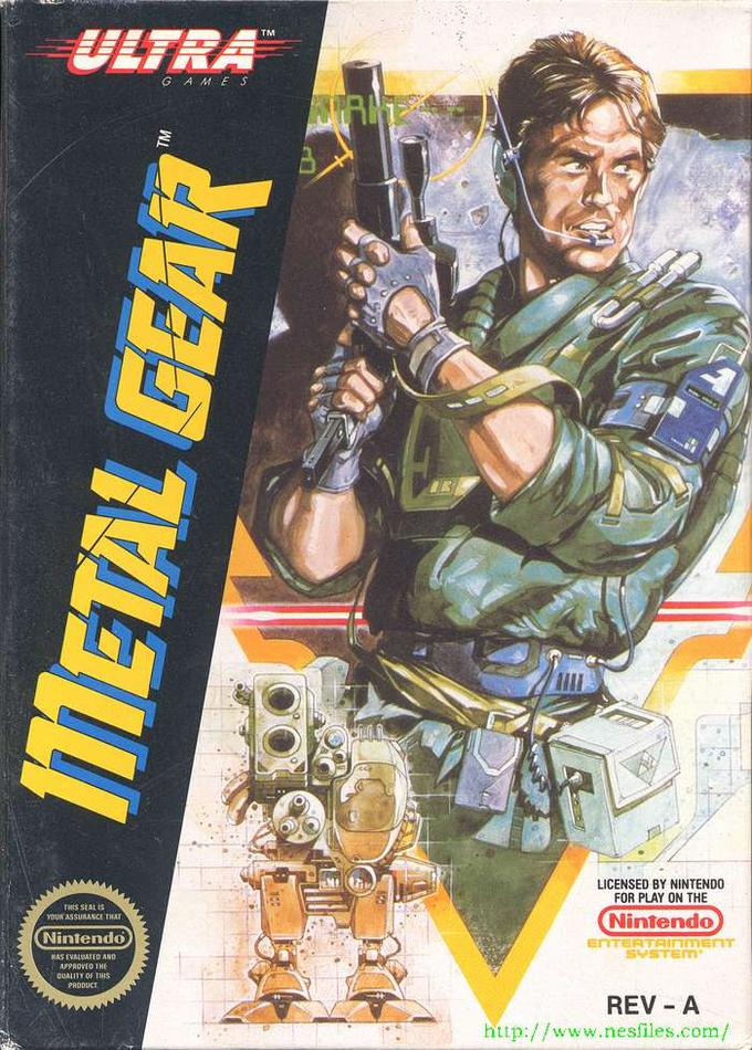 Metal Gear (NES Cover)