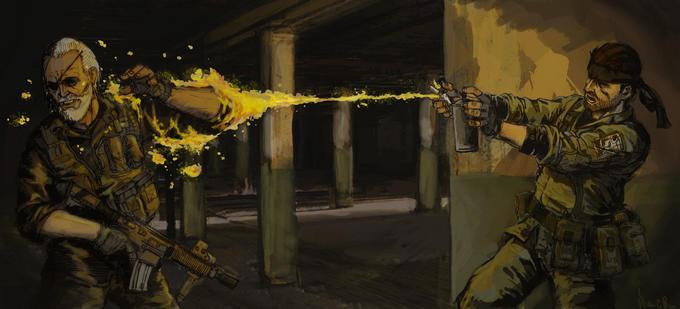 Snake vs. Big Boss (Metal Gear 2)