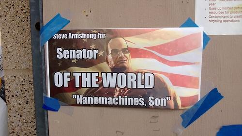 Vote for Senator Armstrong!!!