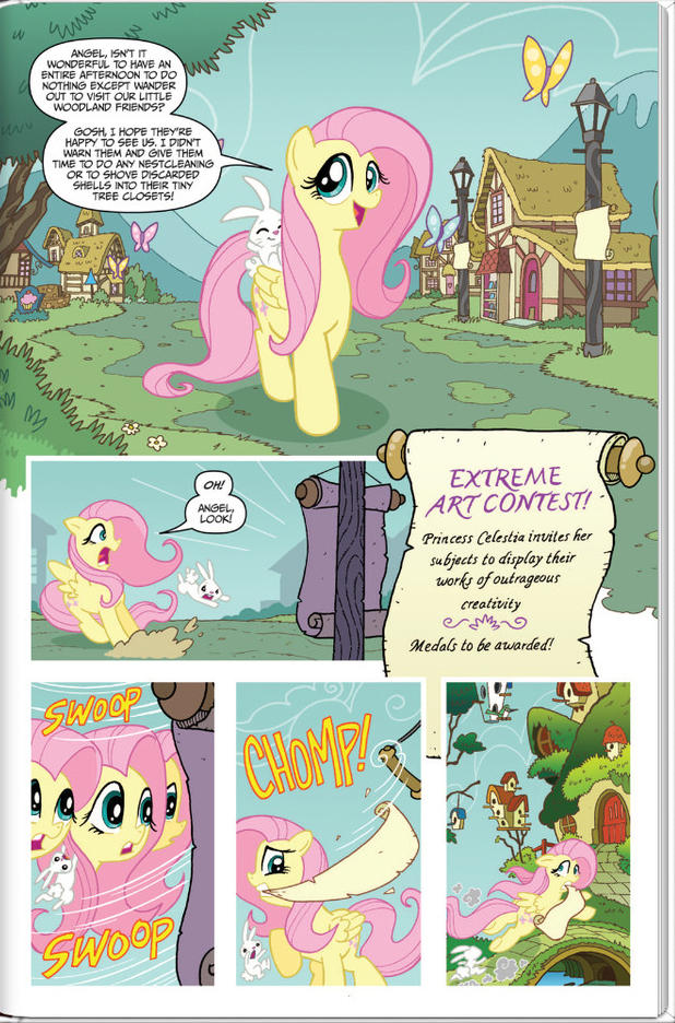 MLP Micro-Series #4: Fluttershy (Preview 1)