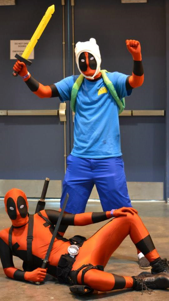 Deadpool Time Cosplay