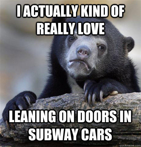 NYC Subway Confession