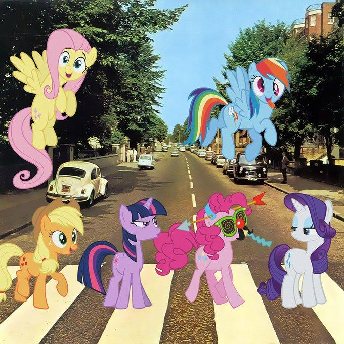 My Abbey Road Pony