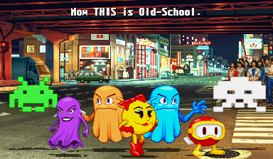 Old-School videogames chars