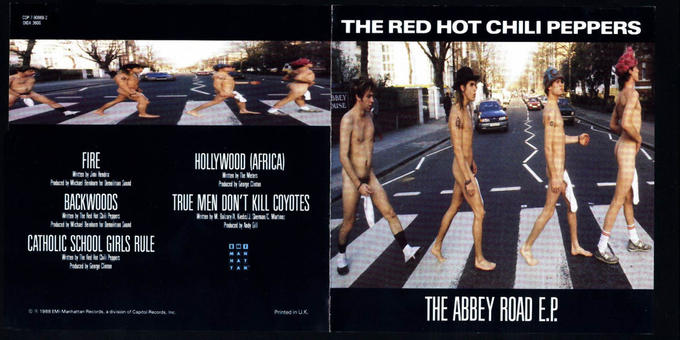 The Red Hot Chili Peppers - Abbey Road E.P.