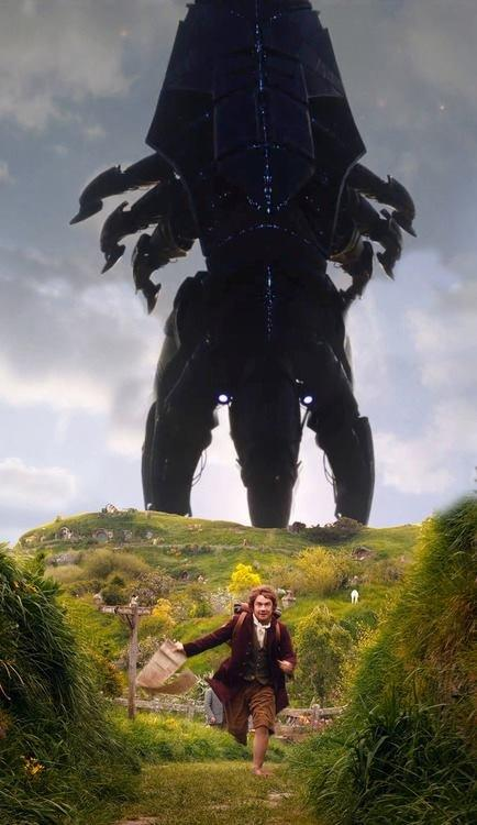 Reaper (Mass Effect) vs. Bilbo Baggins (The Hobbit)