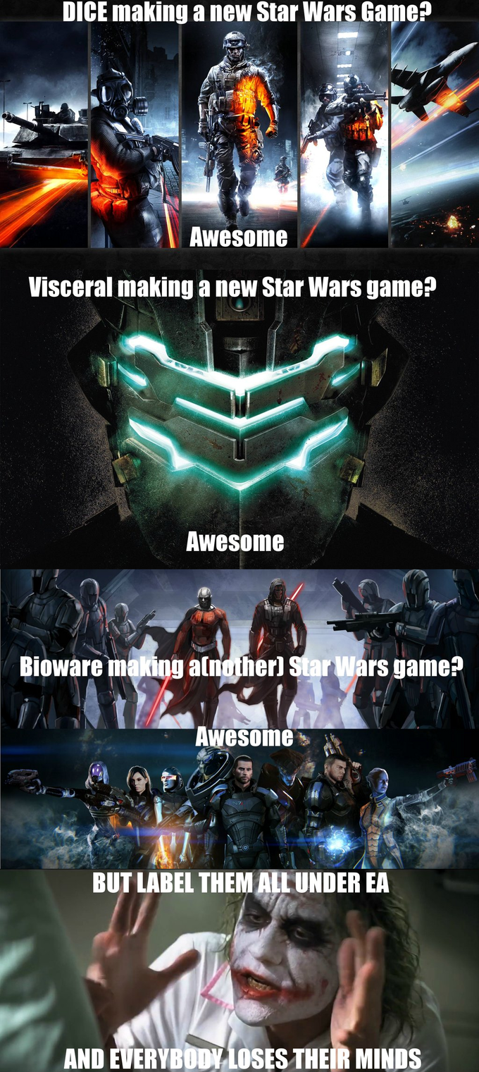 The Joker Assesses The Star Wars/EA Situation.