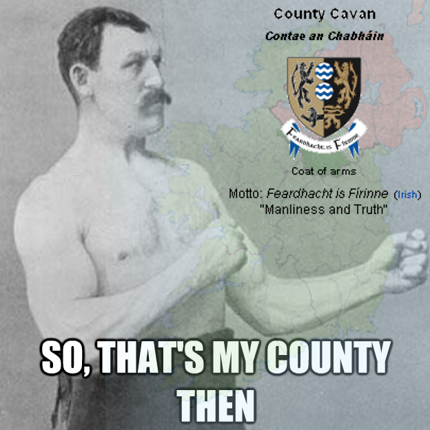 Overly manly County