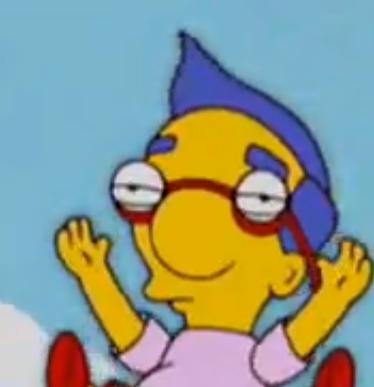 Milhouse is Unamused