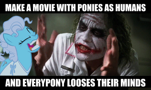 Make a movie with ponies as humans and everypony looses their minds