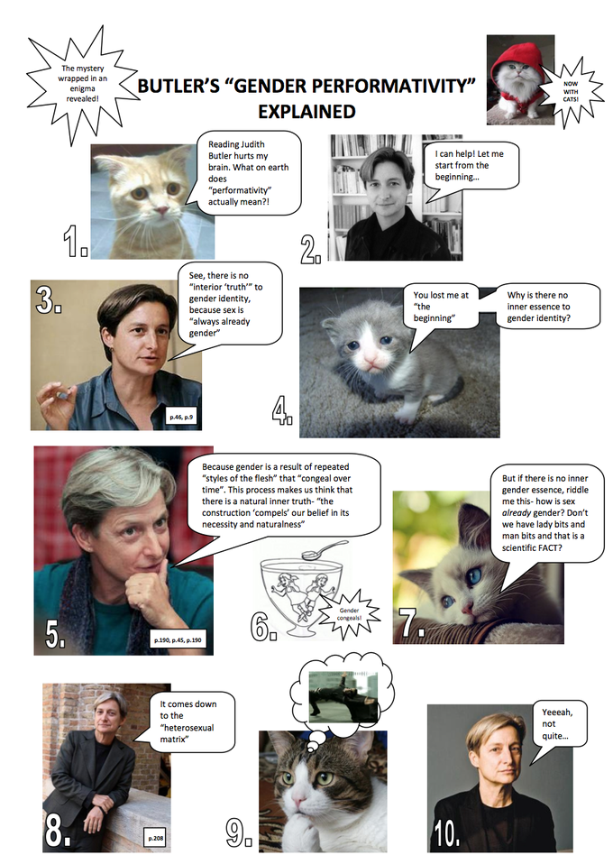Judith Butler Explained with Cats - Part One