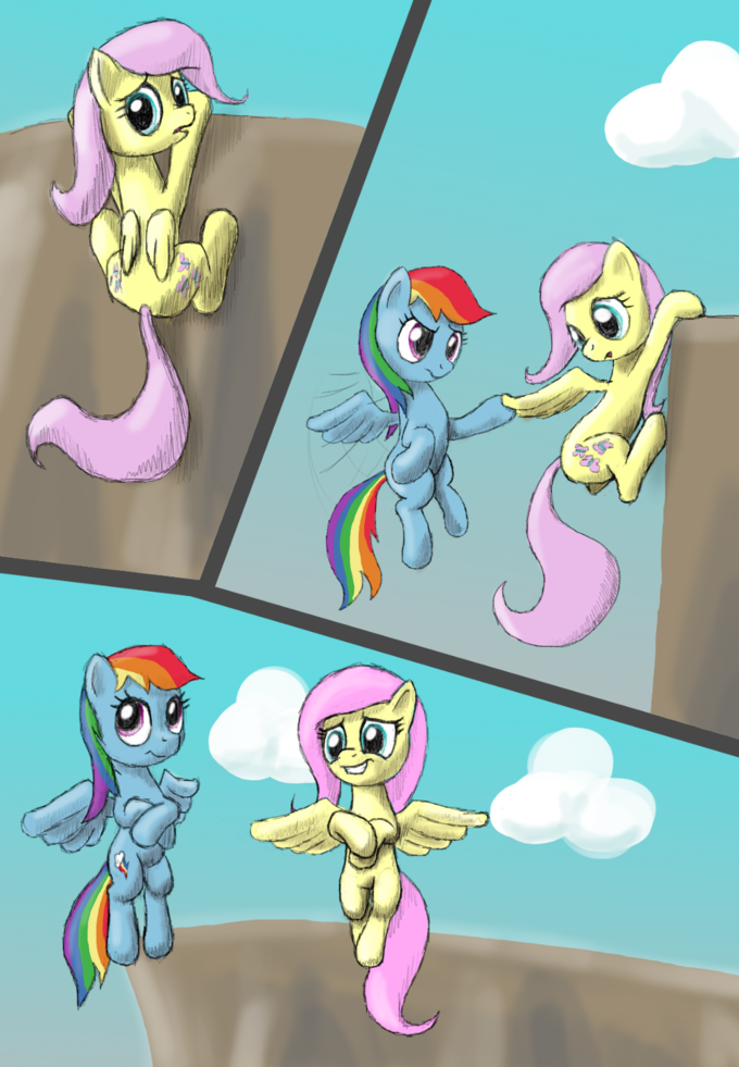Helping Fluttershy