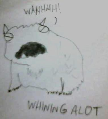 whining alot