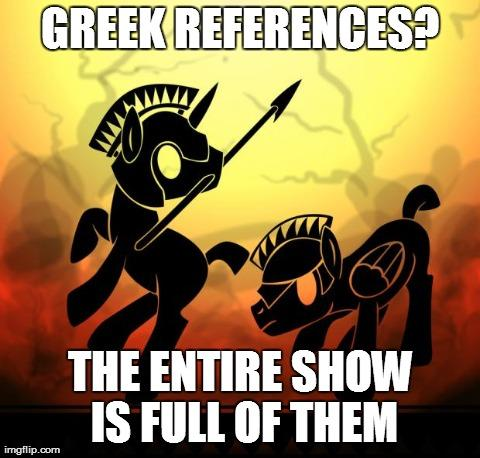 Greek Myth References