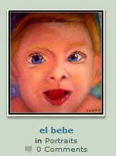 Reshiham as a baby