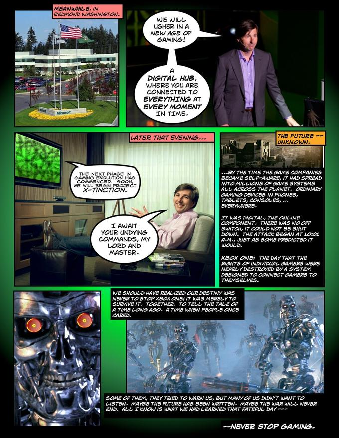 Xbox One - Rise of the Machines