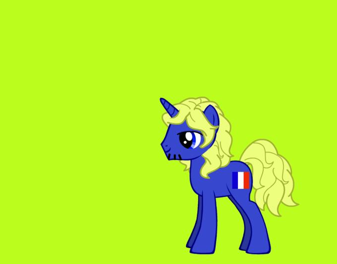 france as a pony