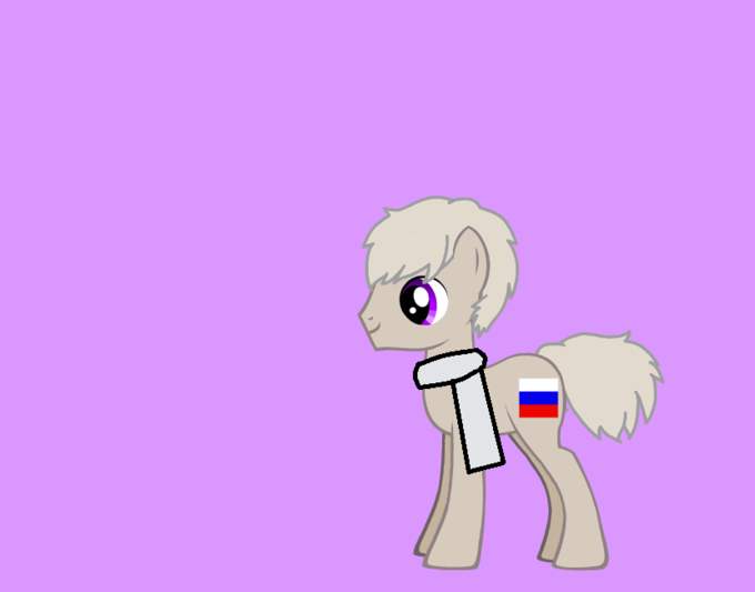 russia as a pony