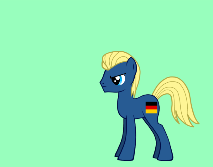 germany as a pony