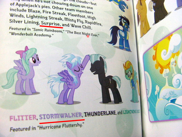 Wonderbolt Surprise, + New CloudChaser Name