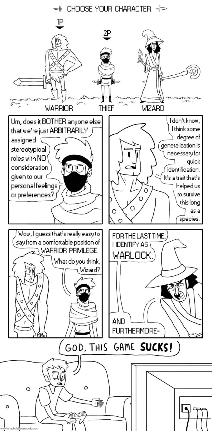 Check your video game privilege