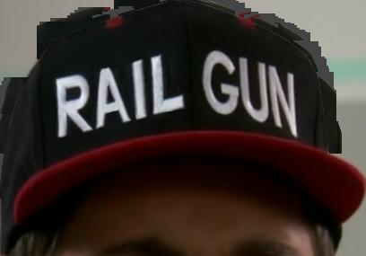 rail gun hat