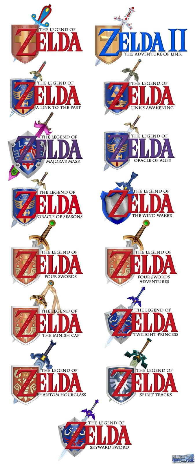 Ocarina of Time Styled Zelda Titles