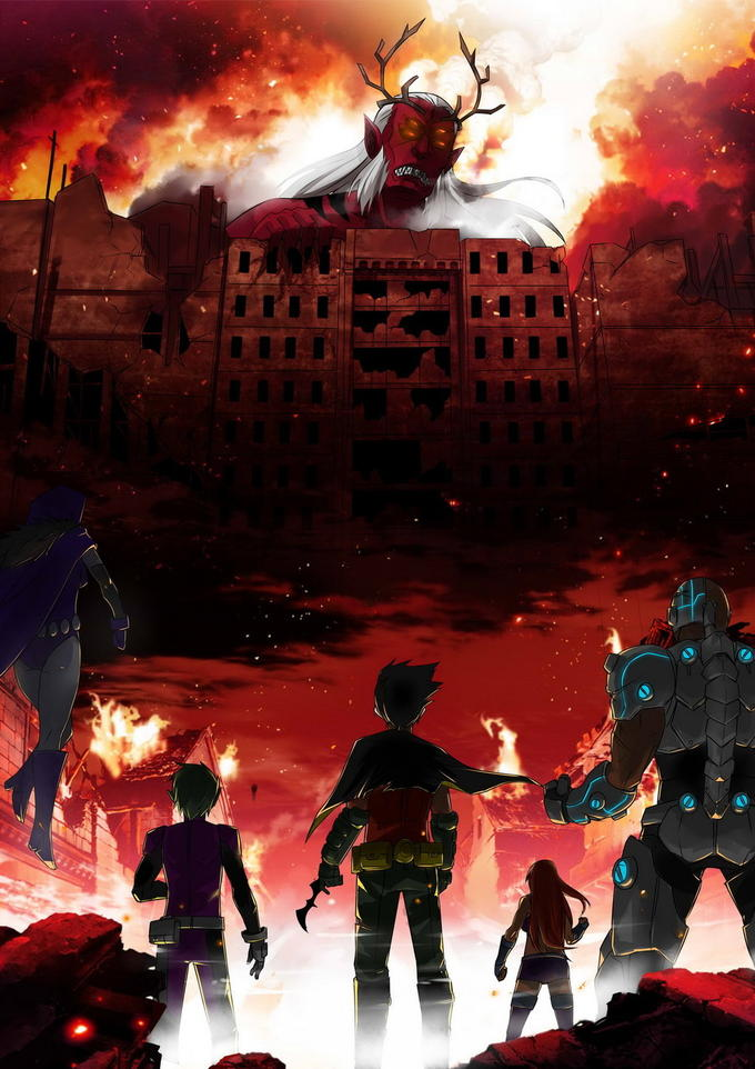 Attack on Titan / or / Attack on Trigon