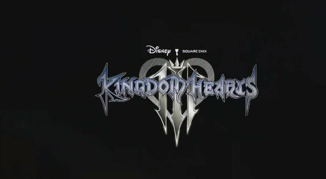 Kingdom Hearts III Official Logo