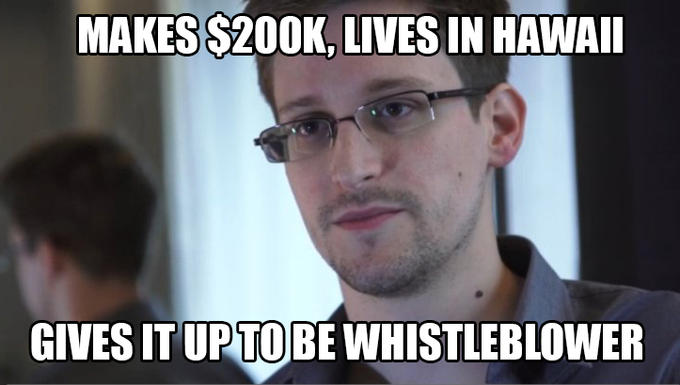 Good Guy Edward Snowden