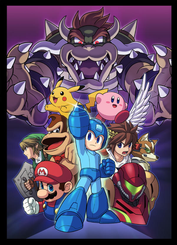 Super Smash Bros 4