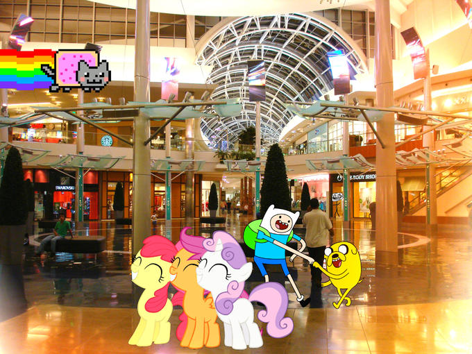 A normal day at the mall