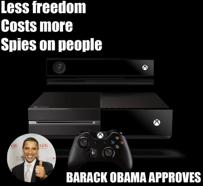 Barack Obama approved of the XBOX One
