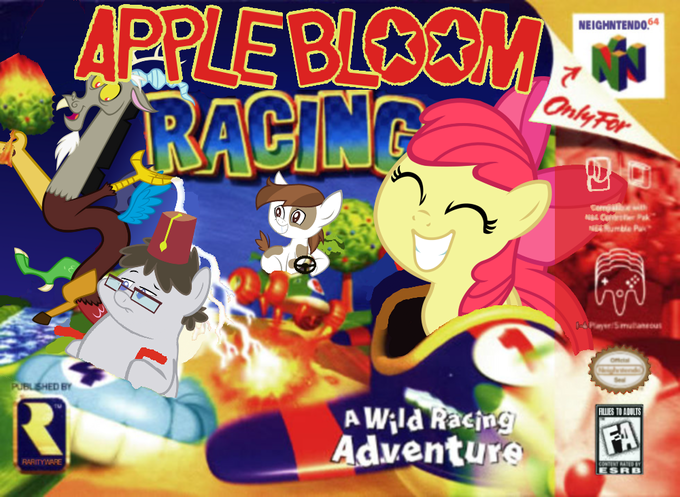 Apple Bloom Racing