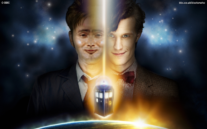 TennantFace and Matt Smith
