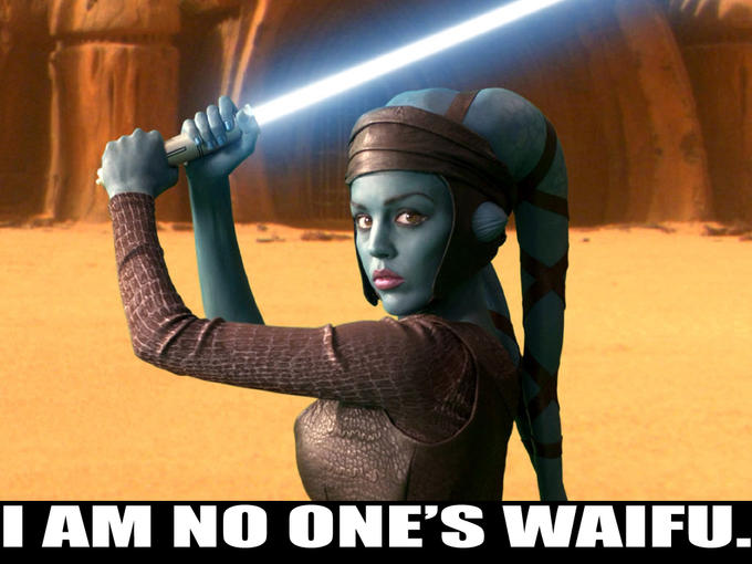 Aayla Secura Is No One's Waifu