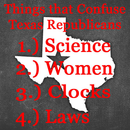 Things That Confuse Texas Republicans